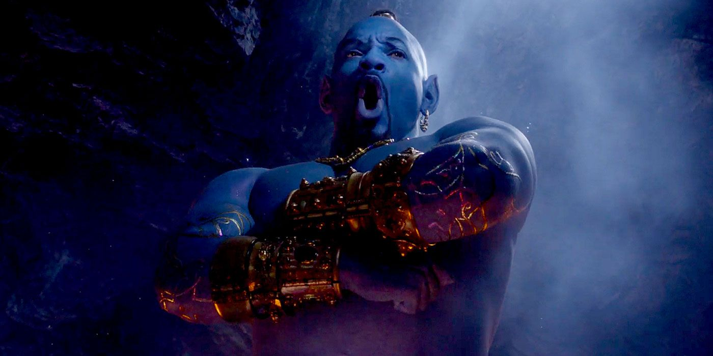 How Aladdin's Will Smith Overcame His Fear of Playing Genie | CBR