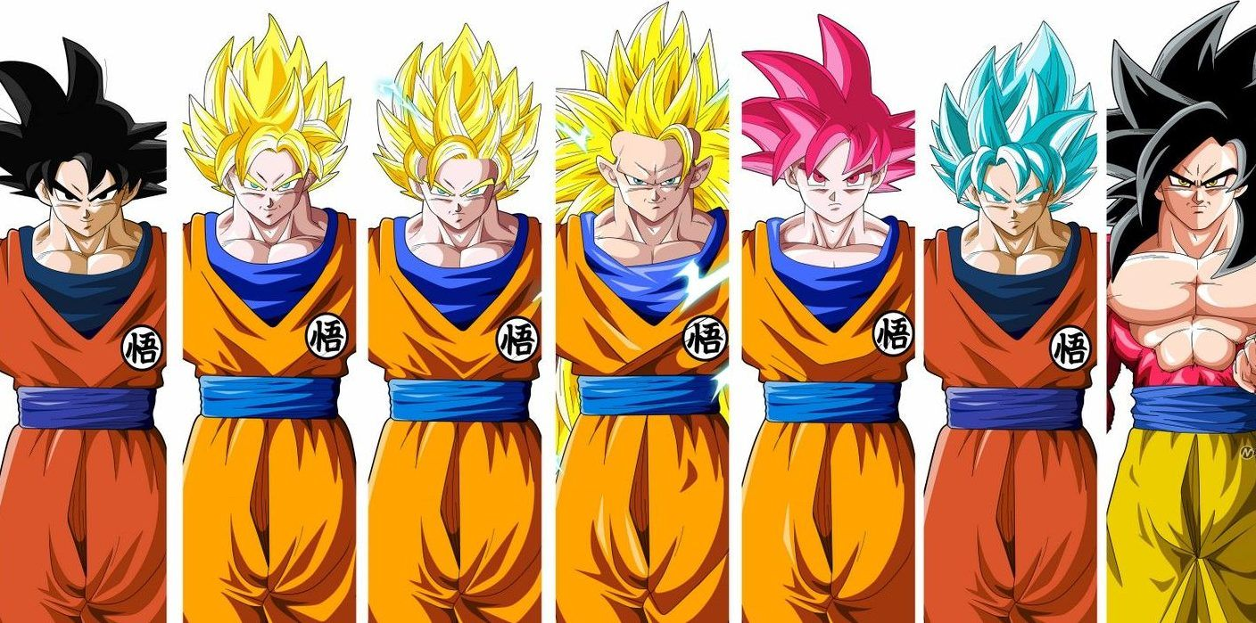 Dragon Ball All Of Goku S Forms In Order Of Impact Cbr