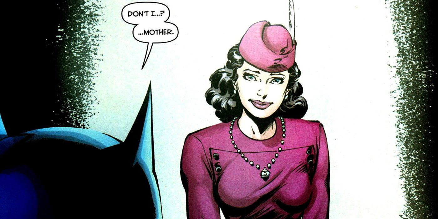 When Did We Learn Batman's Mother's Name?   CBR