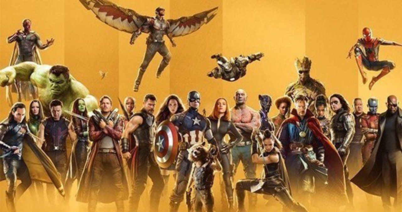 a complete marvel cinematic universe timeline  across film