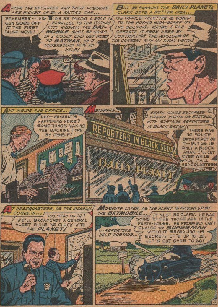 worlds finest comics 72 - Superman ha tenido unos poderes de visión realmente extraños a lo largo de los años
