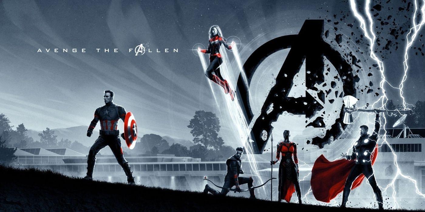 Avengers Endgame Uk Exclusive Odeon Cinema Posters Cbr