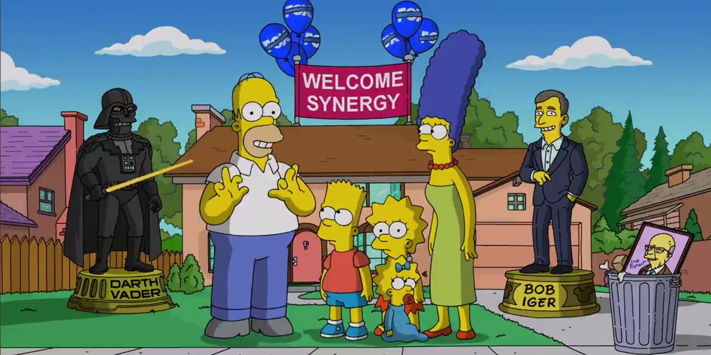 The Simpsons Are Heading to Disney+