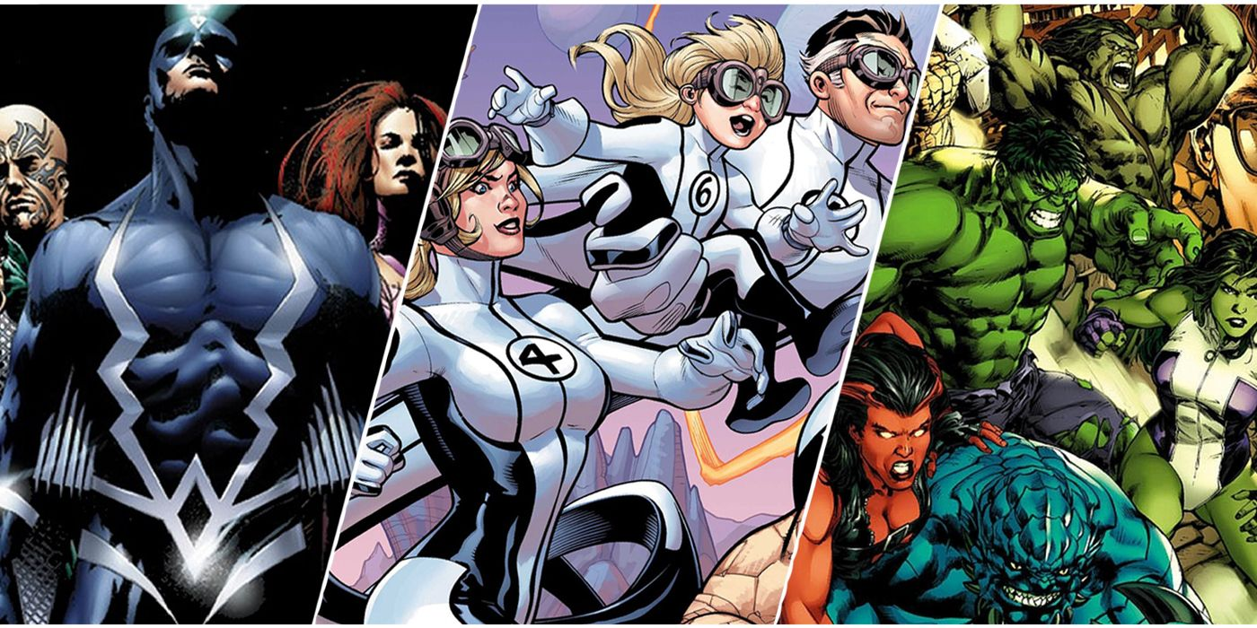 The 10 Most Powerful Families In Marvel, Ranked | CBR