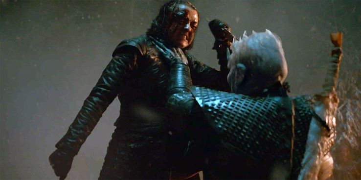 Image result for arya stabs night king