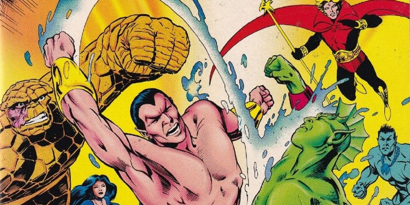 When Namor Got a Crossover Just As His Series Was Canceled