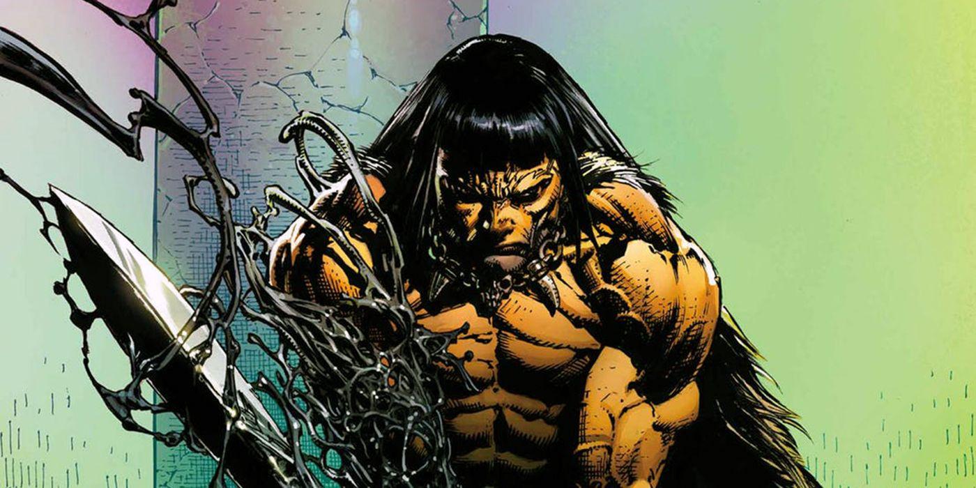 Why Conan Wields a Venom-Possessed Sword in Savage Avengers | CBR