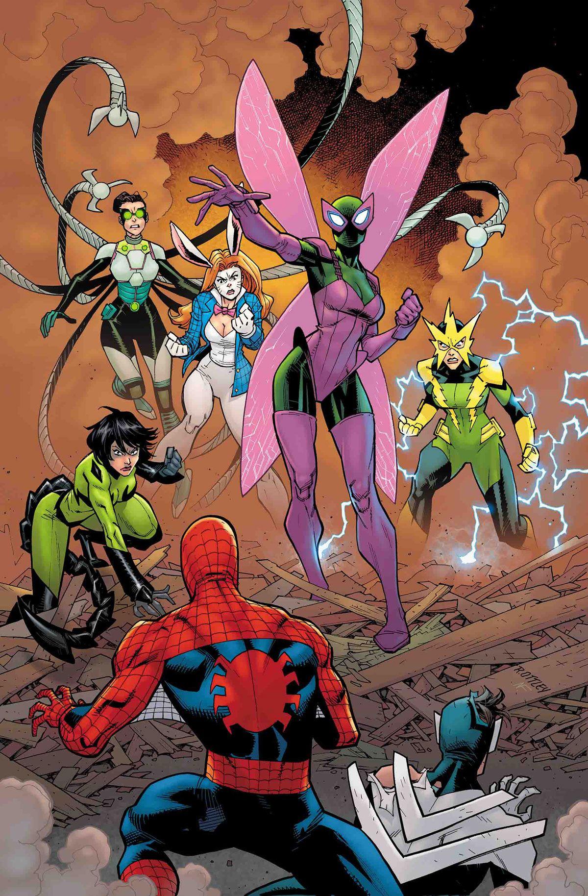 Amazing Spider-man #22 Main Cover STOCK PHOTO Marvel 2019