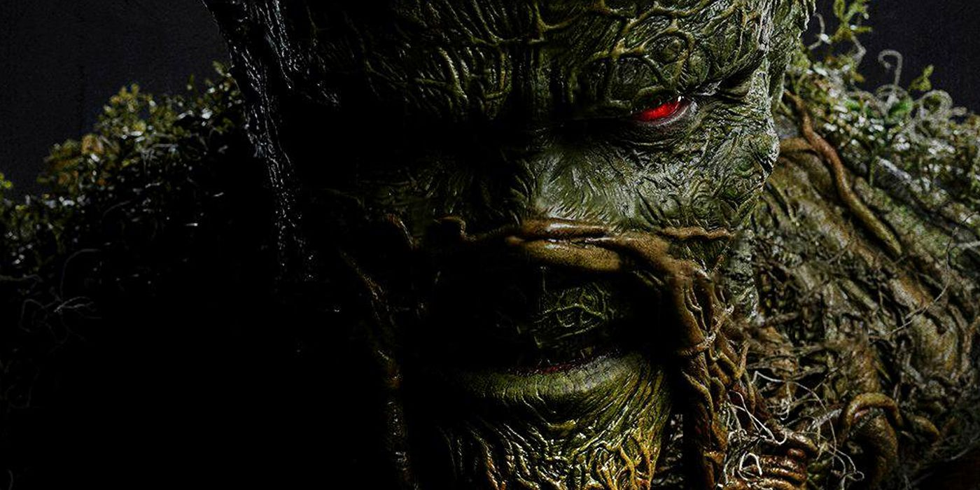 New Swamp Thing Photos Unleash Alec Holland's Inner Monster | CBR