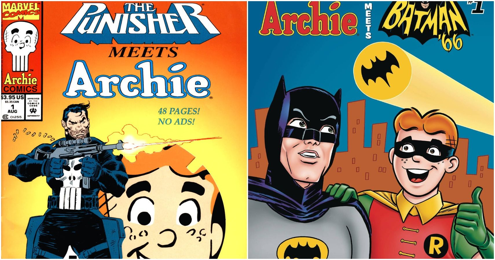 "7 Muses Comics 10 times archie comics went crazier places than ""riverdale"" has"