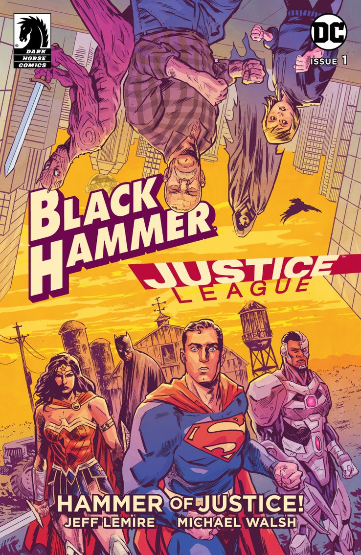 Jeff Lemire Spills secrets of Justice League/Black Hammer Crossover