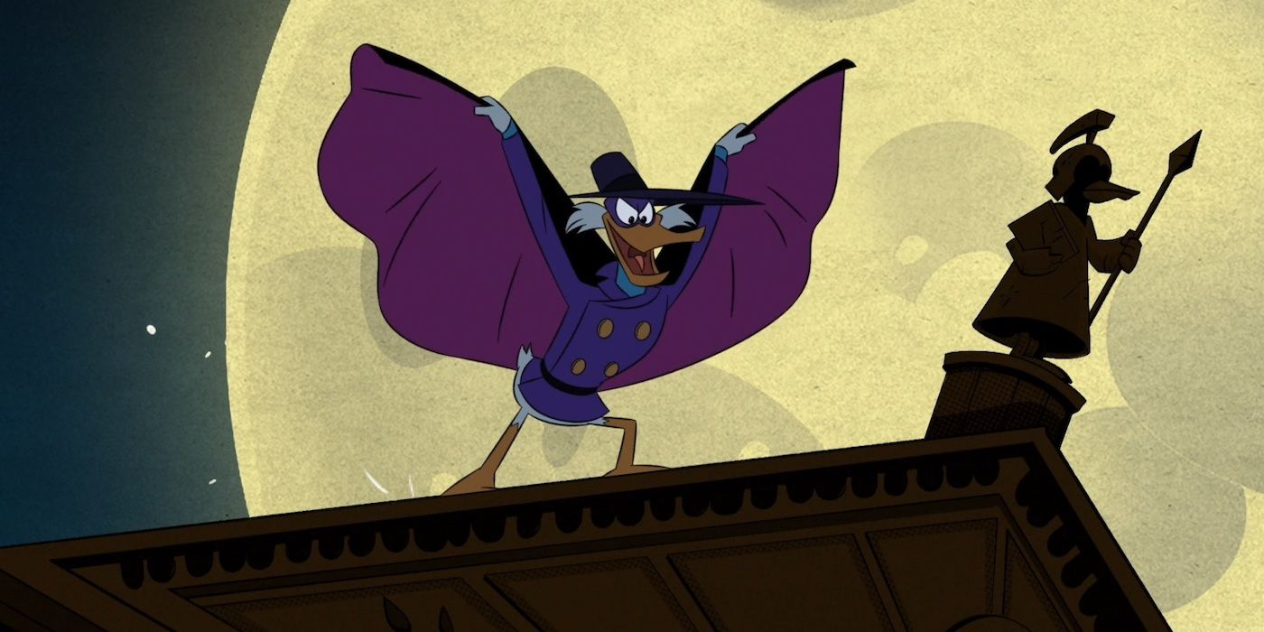 DuckTales' Darkwing Duck Reboot Is a Shot At Zack Snyder | CBR