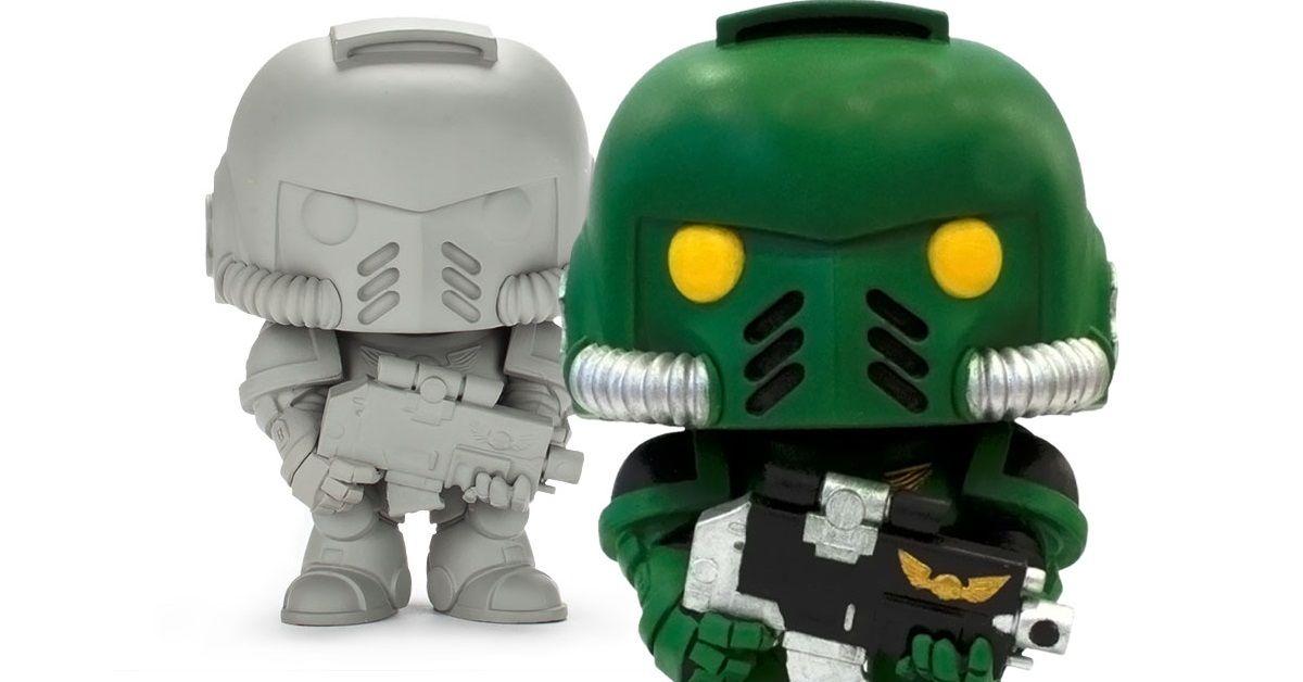 Funko Announces Limited Edition 'DIY' Warhammer Pop!   CBR