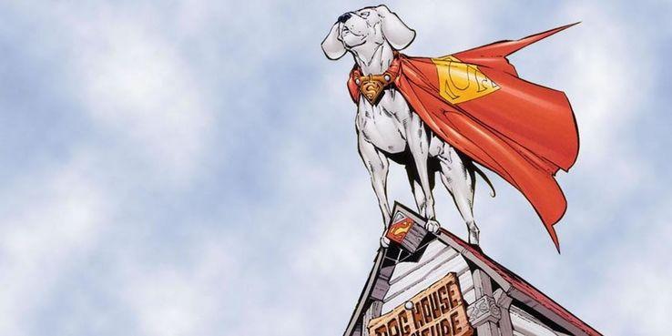 Krypto - Los diez miembros más poderosos de la familia Superman