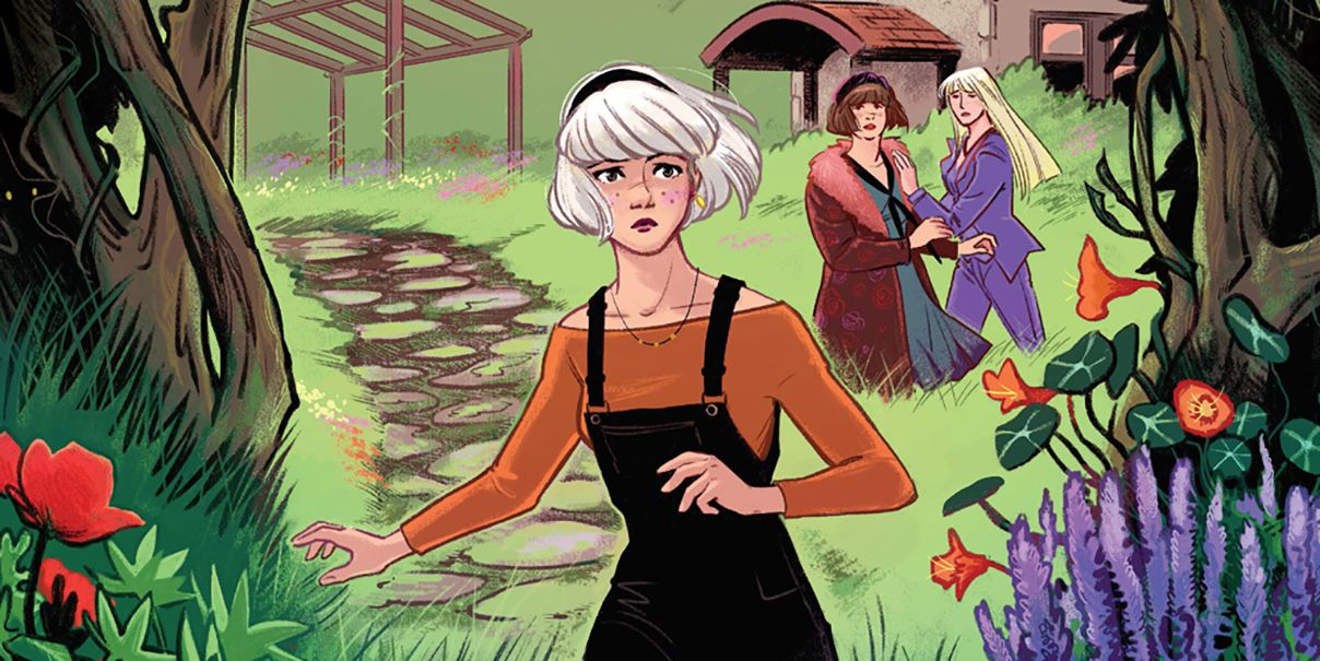 EXCLUSIVE: Sabrina the Teenage Witch Battles a Snake Monster in Preview