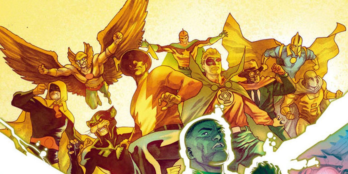 Justice Society of America: Snyder Reveals Details for Original Team
