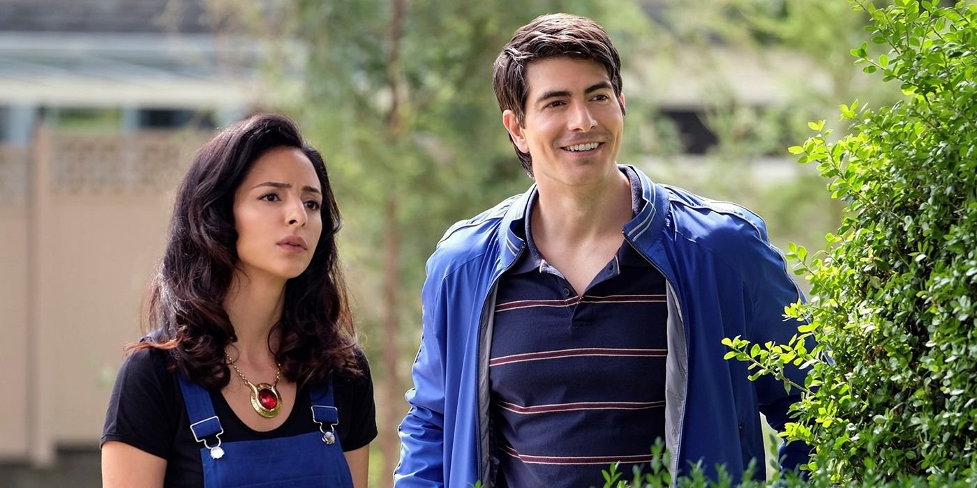 Legends of Tomorrow's Tala Ashe Welcomes Brandon Routh's Superman to the Team