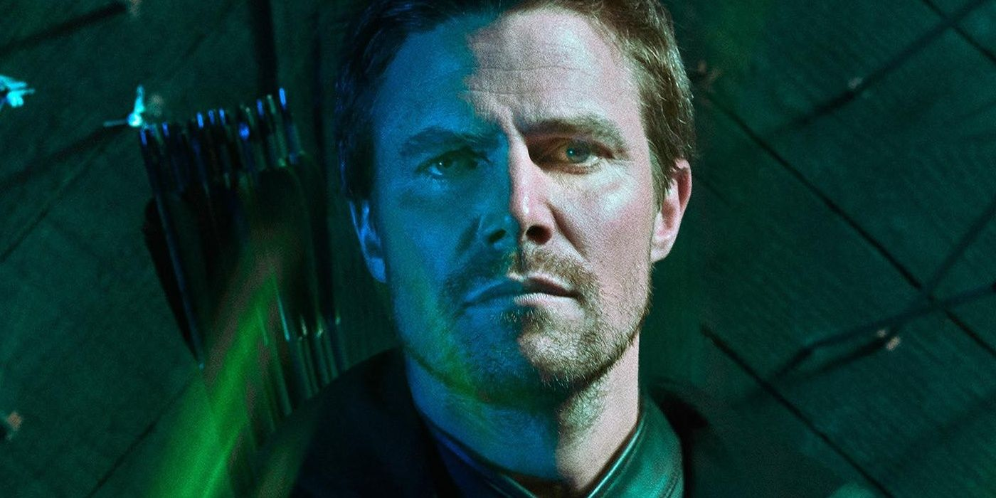 Arrow Season 8 Photo Reveals an Uneasy Reunion | CBR