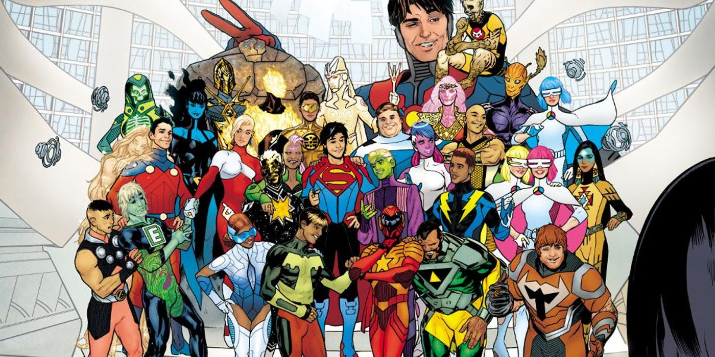 Jim Lee Shares Early Look At His Legion of Super-Heroes Story