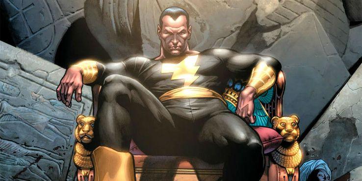 DC Comics Black Adam Shazam