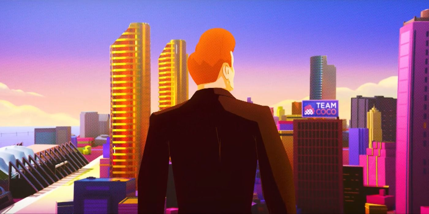 Conan O'Brien Goes Into the Spider-Verse in Animated Cold Open