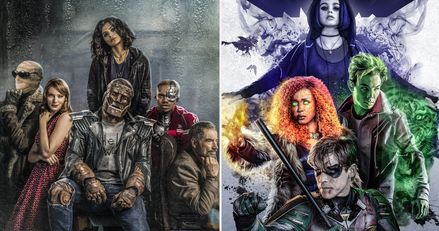 10 Things Doom Patrol Does Better Than Titans Cbr