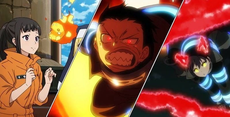 10 Most Unique Fire Powers In Fire Force | CBR