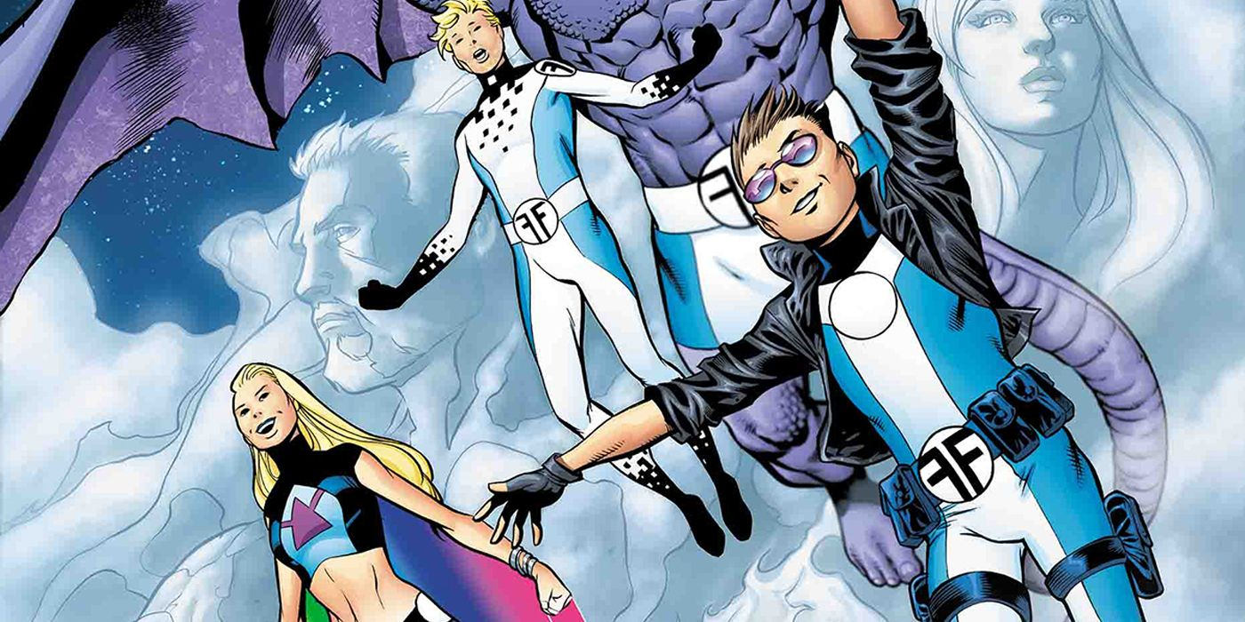 Jeremy Whitley Discusses Relaunching Marvel's Future Foundation