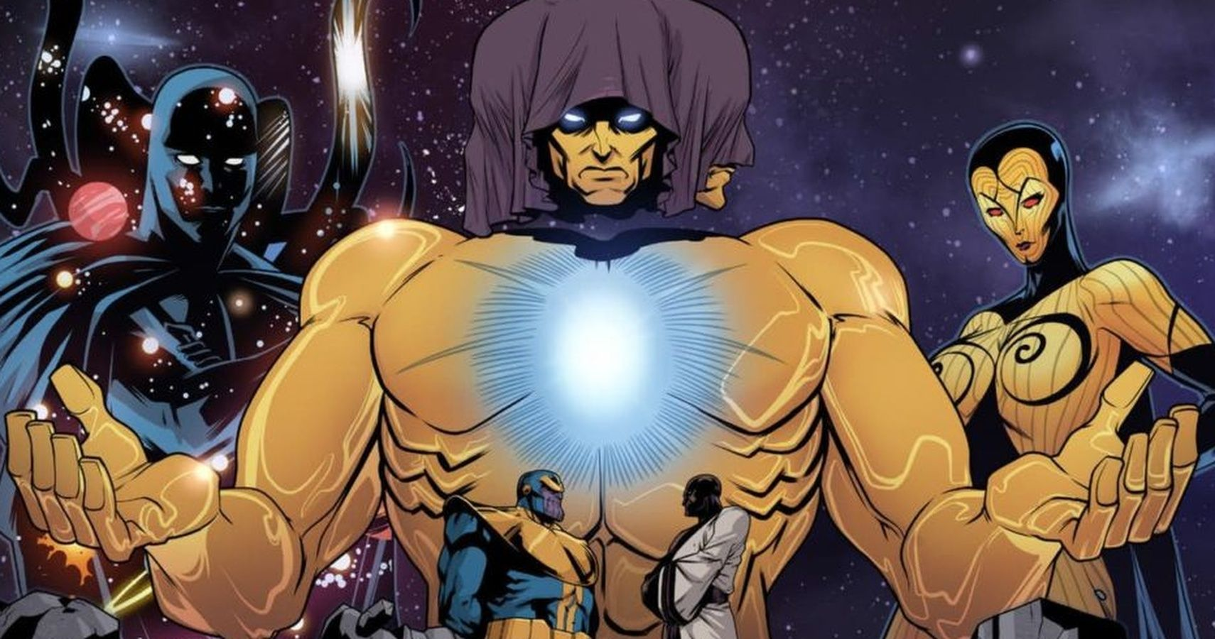 Top 10 Most Powerful Marvel Characters The Living Tribunal