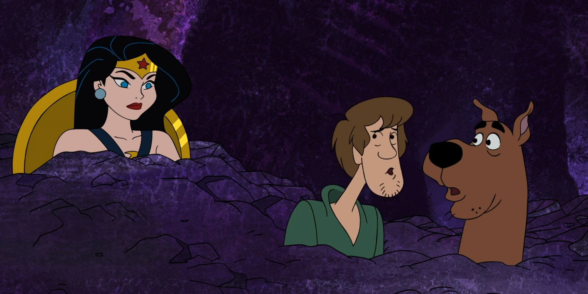 EXCLUSIVE: Wonder Woman Joins Mystery Inc in Scooby-Doo and Guess Who Clip