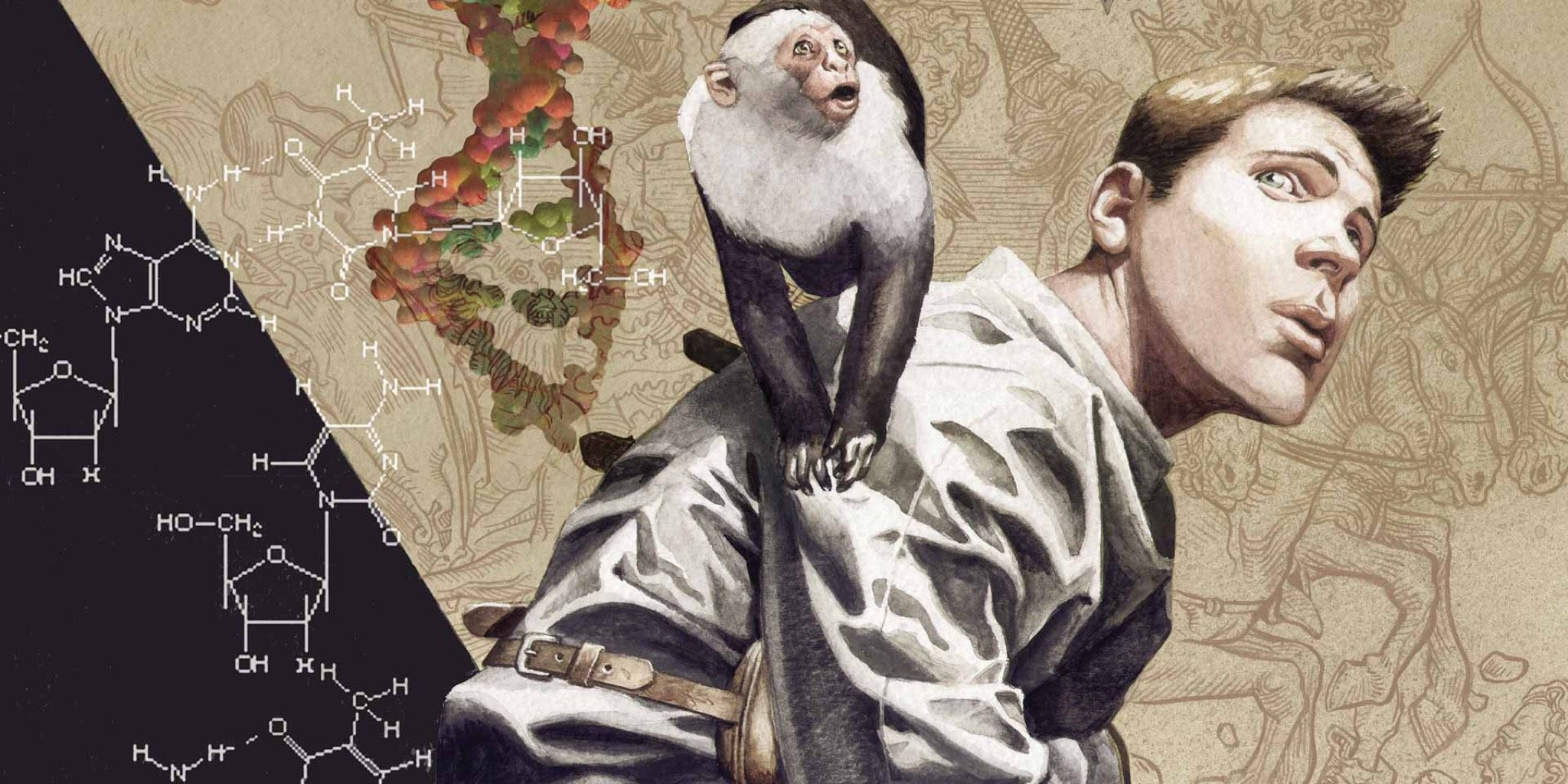 Friends Monkey Played Ampersand in Y: The Last Man Pilot | CBR