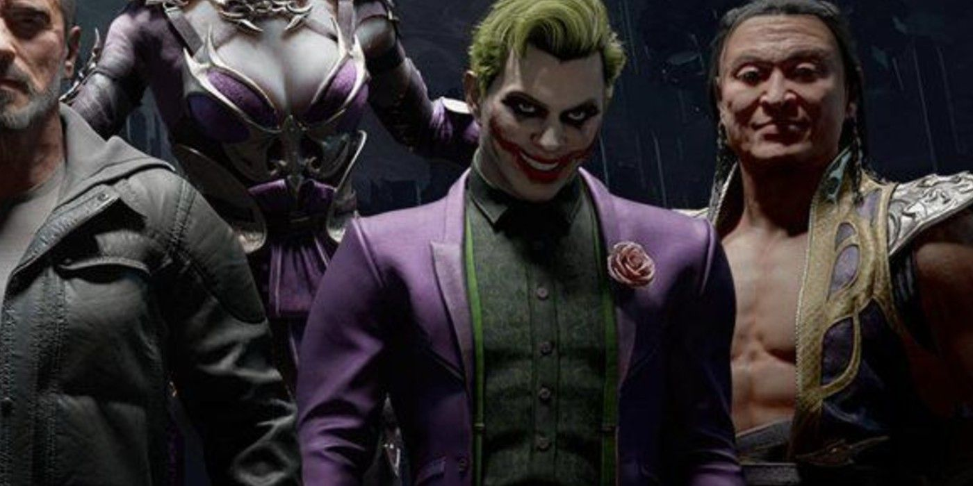 Image result for mortal kombat 11 The Joker