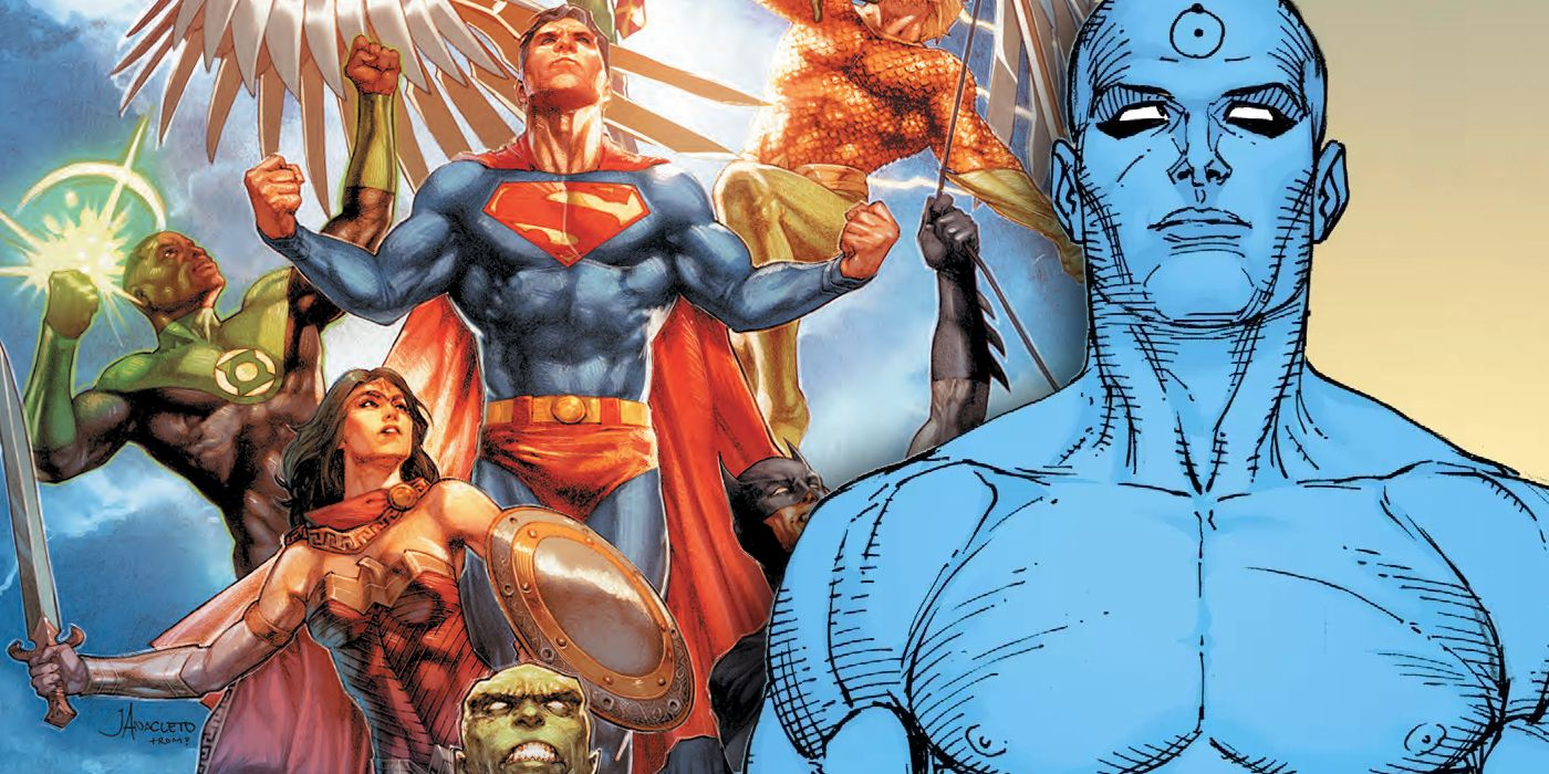 Does Justice League Take Place After Doomsday Clock? | CBR