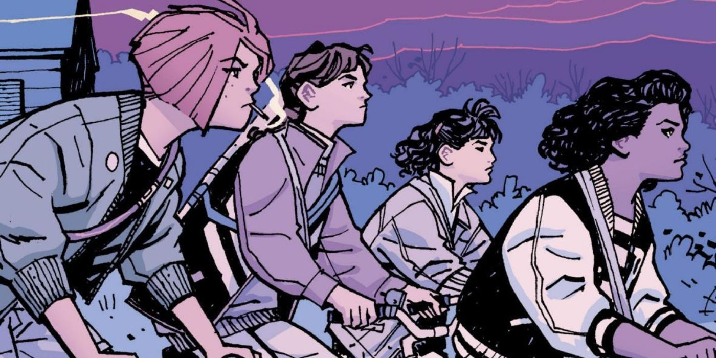 Brian K Vaughan & Cliff Chiang's Paper Girls Is the Anti-Stranger Things