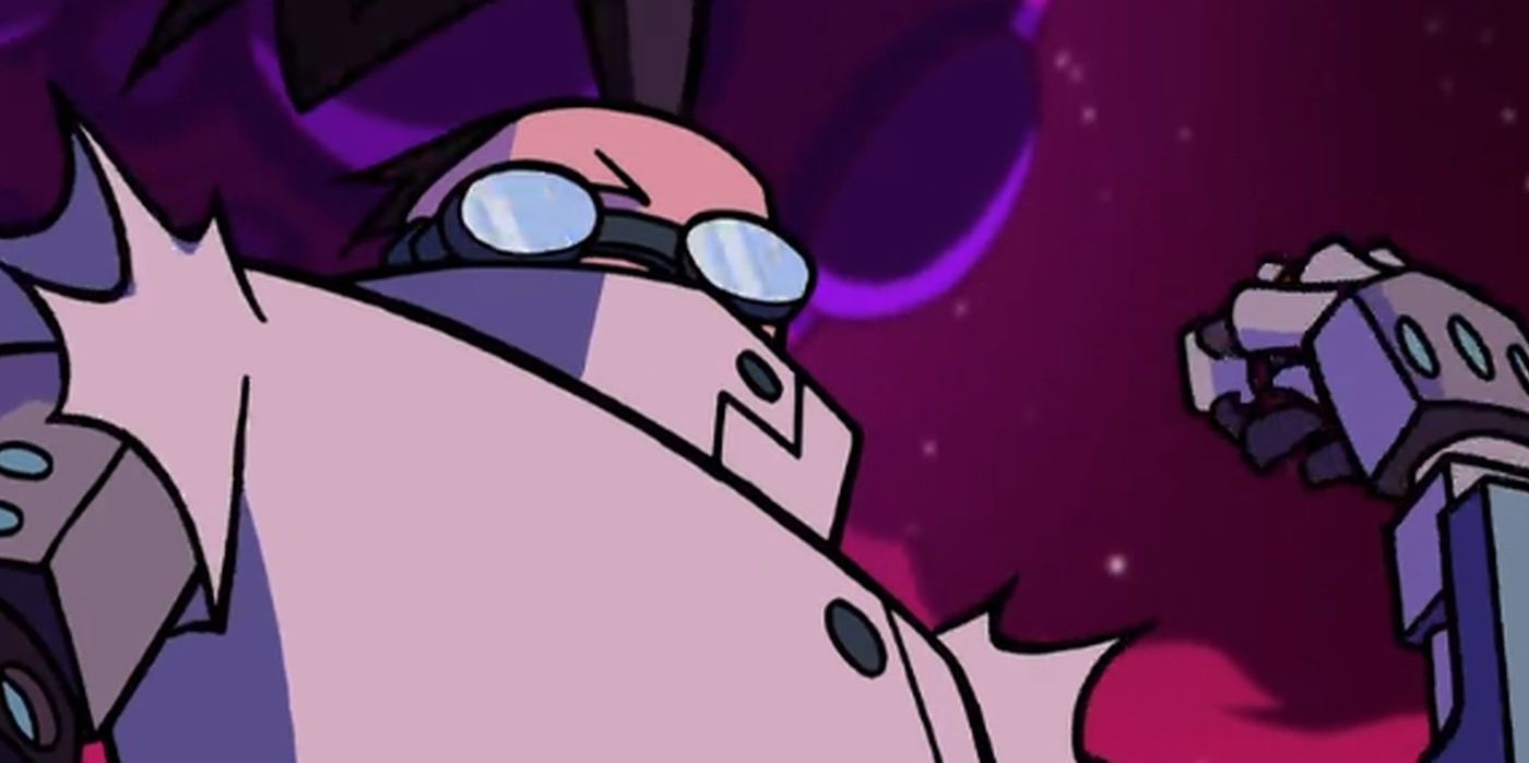 Invader Zim: Enter the Florpus Turns a Character Into Iron ...Invader Zim Professor Membrane