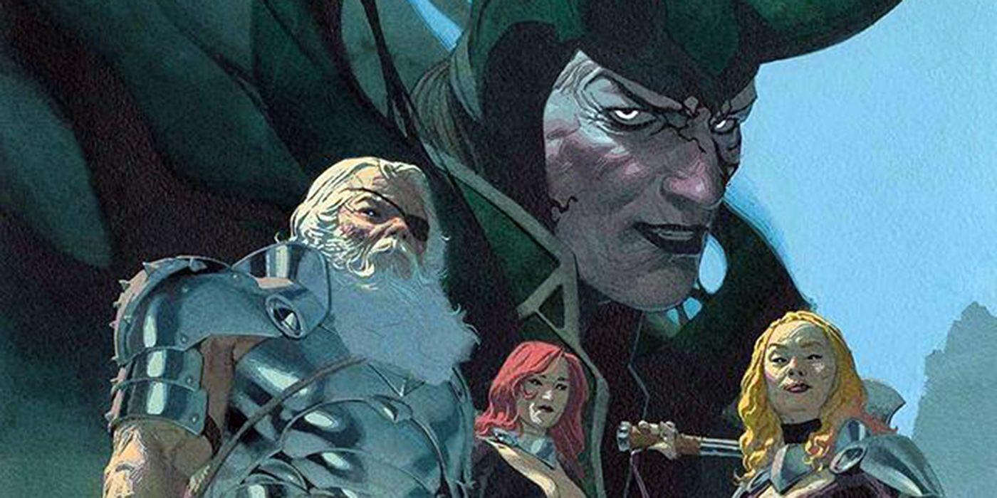 King Thor #1 Reveals Loki 's Title as the All-Butcher Necrogod