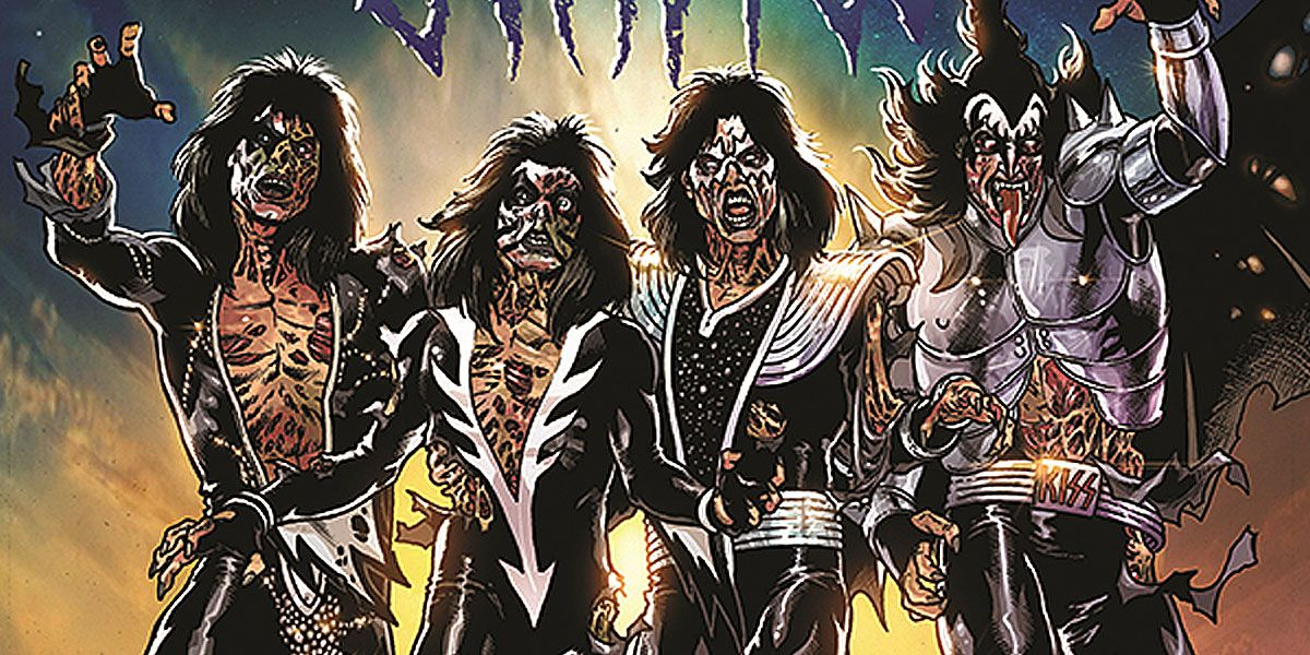 INTERVIEW: Ethan Sacks' KISS Zombies Comic Rocks Out the Undead Apocalypse