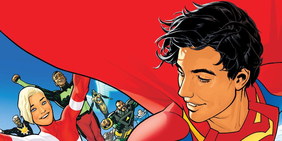 Ryan Sook's Legion of Super-Heroes #1 Cover Spoils a Future DCU Cataclysm