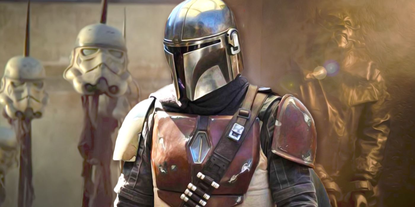 The Mandalorian Welcomes George Lucas to the Set in BTS Footage