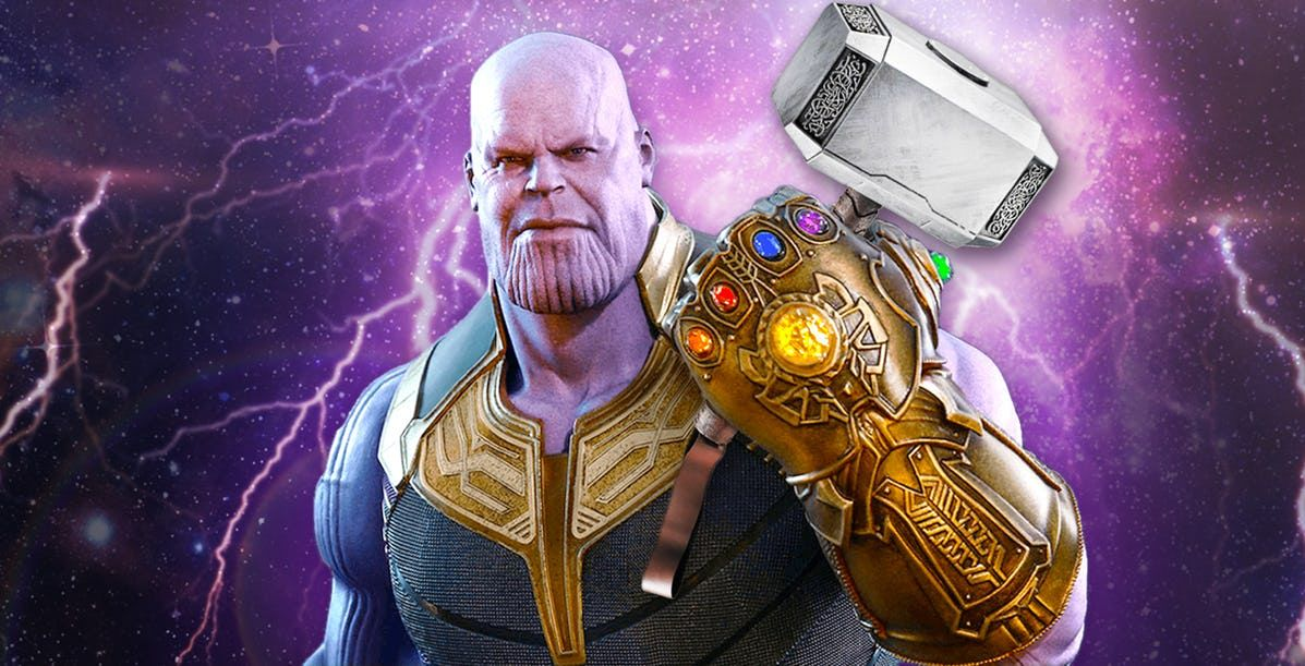 Avengers Endgame May Answer Whether Thanos Can Lift Thor S