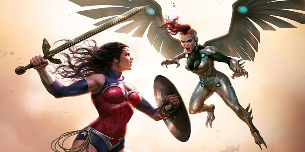 Silver Swan Strikes in Wonder Woman: Bloodlines Clip | CBR