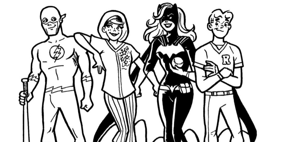 Arrowverse/Archieverse Softball Tournament Art Is The Crossover We Need