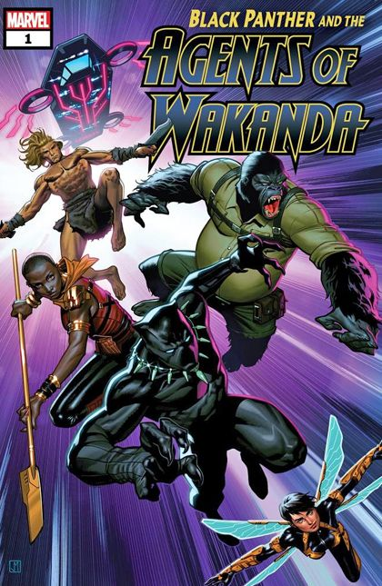 Review: Black Panther and the Agents of Wakanda #1 Brings Eclectic Fun