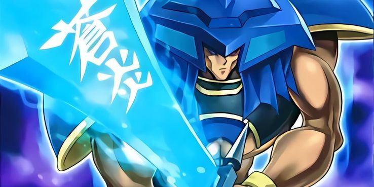Yugioh! BLUE FLAME SWORDSMAN