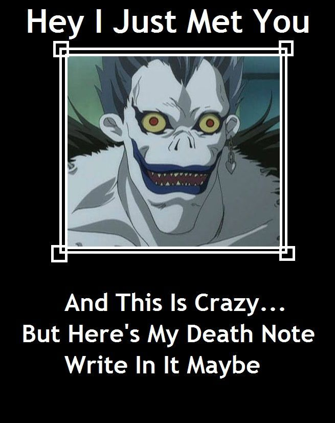 Death Note 10 Hilarious Logic Memes That Will Have You Crying