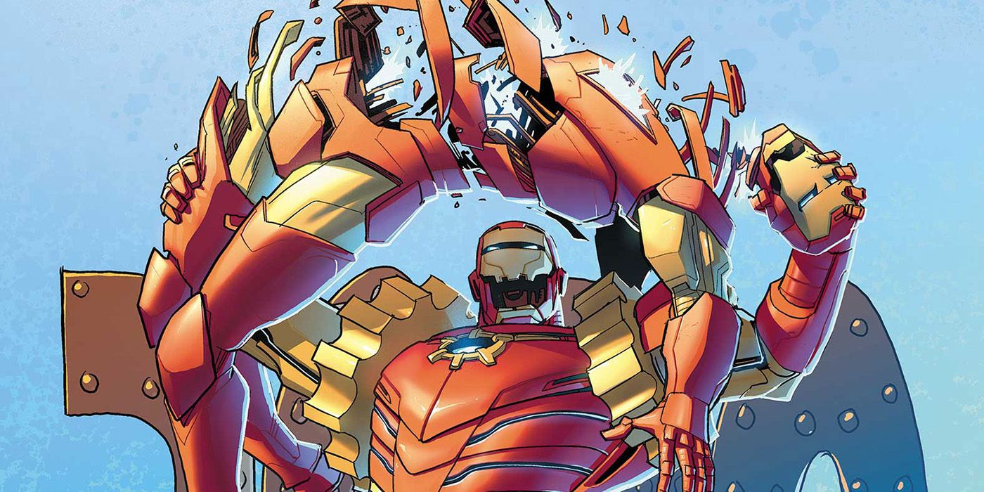 Ultron Agenda Finale Variant Teases the Debut of Iron Man 2020