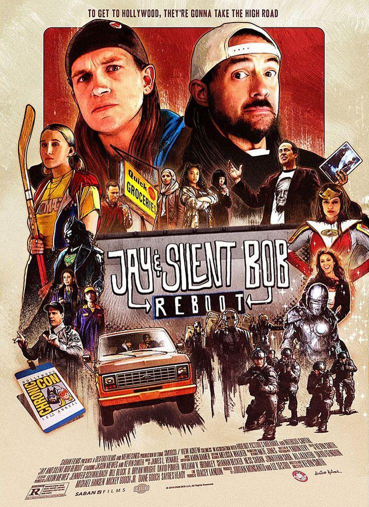 Resultado de imagem para jay and silent bob reboot poster