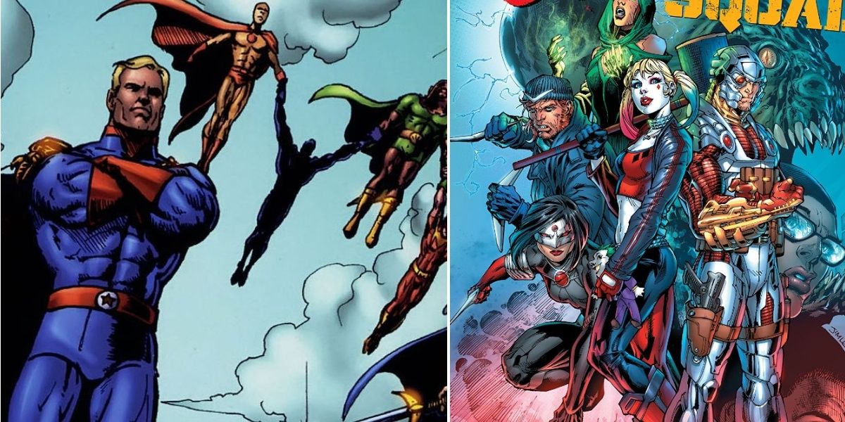 The Seven vs. The Suicide Squad: Who Would Win? | CBR