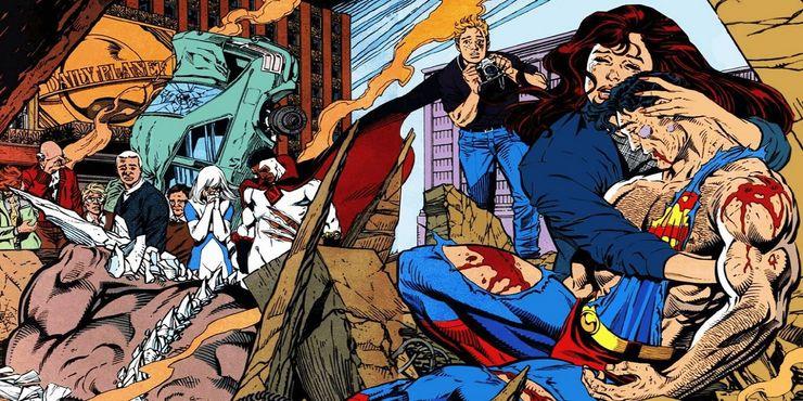 death of superman - Los 10 mejores escritores de Superman de todos los tiempos