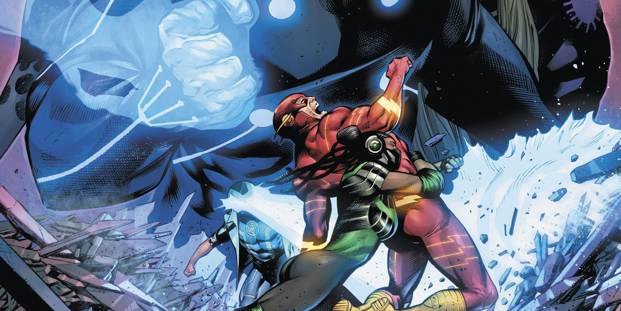 The Flash Black Flash Just Killed Its First New Forces Avatar